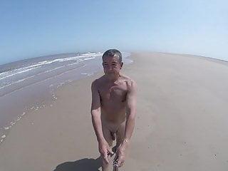 Andy walk beach...
