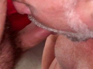 Enjoying Daddy's Fat Ass