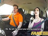 Fake Driving School Hard sex and creampie on 2nd lesson