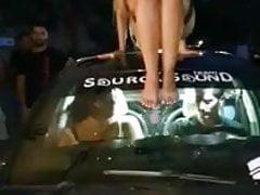 Anastasia Giousef car dance