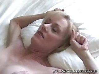 Making Melanie Cum And Cum