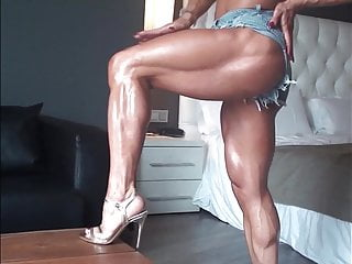 Hot & ripped identical to her denims shorts! PMV!