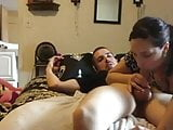 wife blowjob and spit