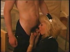 Pretty Russian Blonde Mom Sex With Young Man Voyeur