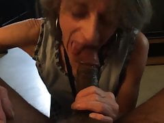 Next door neighbour white lady asked to Blow My BBC