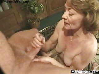 Granny fucked by old...