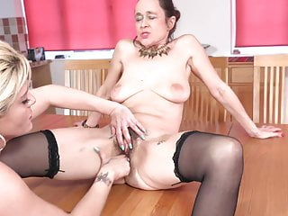 Hairy fuck shaved mature woman...