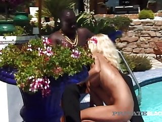 Private Black - Kristina Takes A Big Black Cock Outdoors!