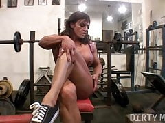 Nude Muscle Girls Compilation 1