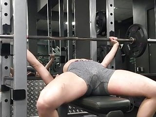 Gym Workout Open Legs Crotch Camel Toe Toda Aberta Academia