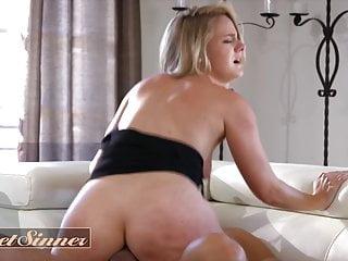 Shy blonde Lisey Sweet has break in fetish - Sweet Sinner