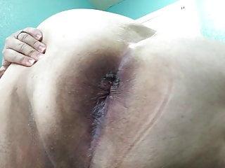 My hole...