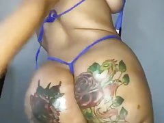 Ass fat but ruined with tattoos