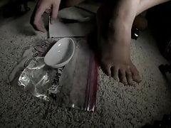The Foot Sugar Of Goddess Emma