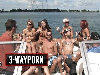 3 way porn speedboat part 1...