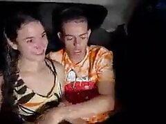Primeiro video porno da branquinha Gabbie Luna
