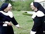German Nun get her First Fuck from Repairman in Kloster