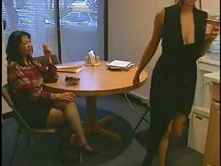 Sabrine maui vs china spice hardcore lesbian show...