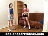 Nude lesbian sports