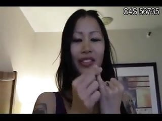 Funny small oriental penis humiliation by east...